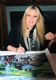 Sally Thomsett signing The Railway Children Edition