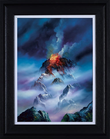 Philip Gray, Blazing Clouds, Framed