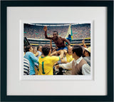 Pele, World Cup Victory 1970, Framed