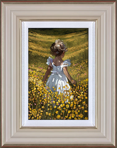 Sherree Valentine Daines, Wildflower Meadow, Framed