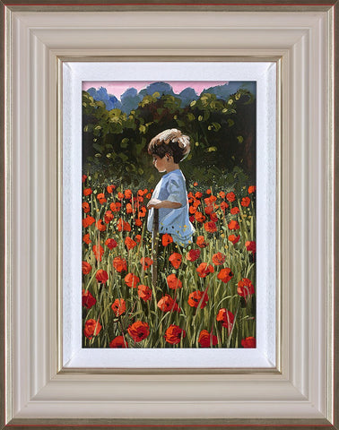 Sherree Valentine Daines, Lost Amongst The Poppies, Framed