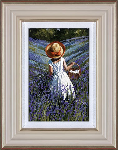 Sherree Valentine Daines, Bluebell Haven, Framed