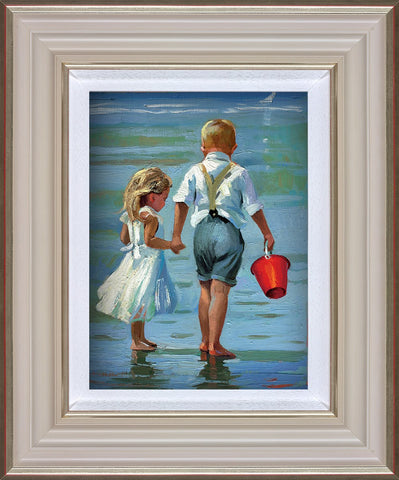 Sherree Valentine Daines, Hold On Tight, Framed
