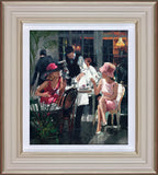 Sherree Valentine Daines, Cafe Royal, Framed