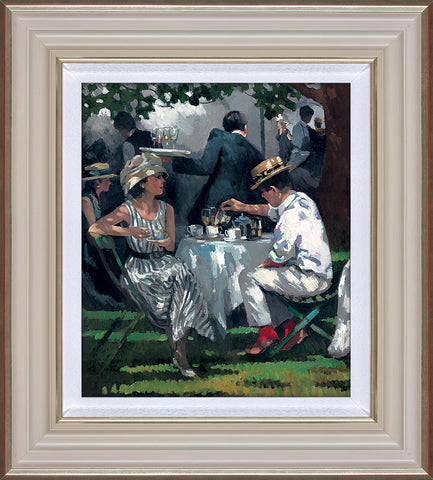 Sherree Valentine Daines, Afternoon Tea, Framed