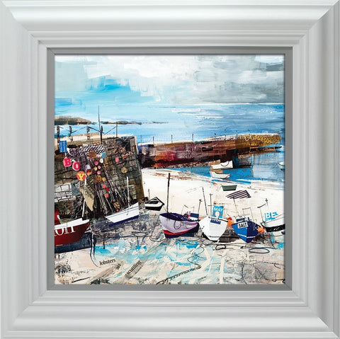 Tom Butler, Sennen Cove Boats, Framed