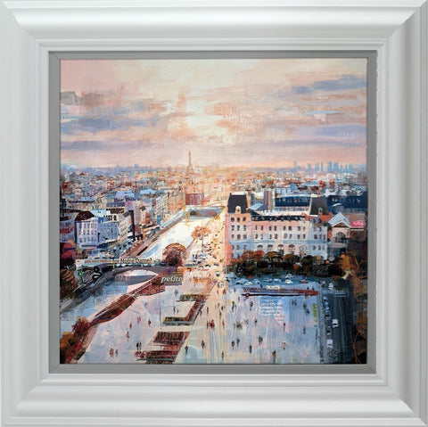 Tom Butler, Rooftop Reverie, Framed