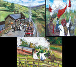 Timmy Mallett, The Railway Children Collection (Canvas)