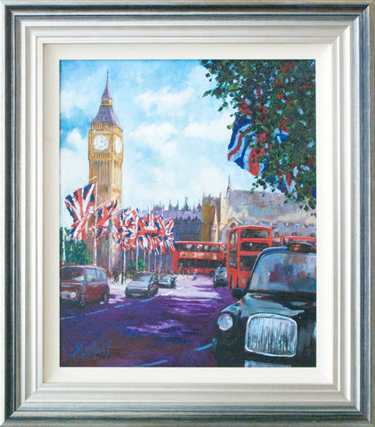 Timmy Mallett, Westminster Wedding, Framed