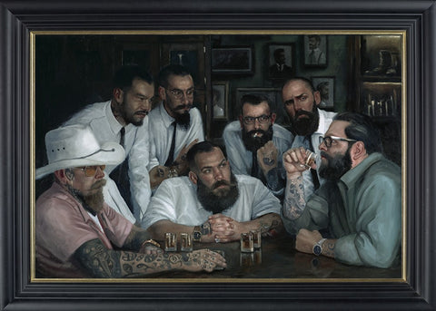 Vincent Kamp, Settling Old Rivalries, Framed