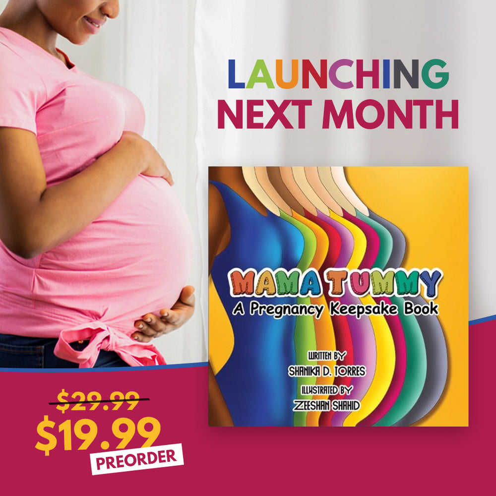 MAMA TUMMY- A Pregnancy Keepsake Book