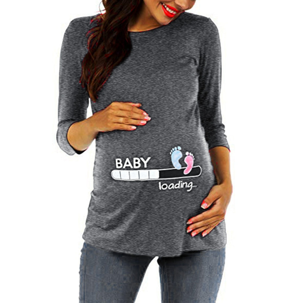 Pregnancy clothes T-shirt