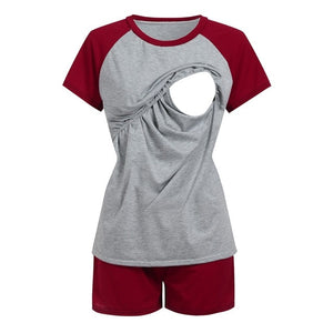 Women Maternity Nursing Pajamas