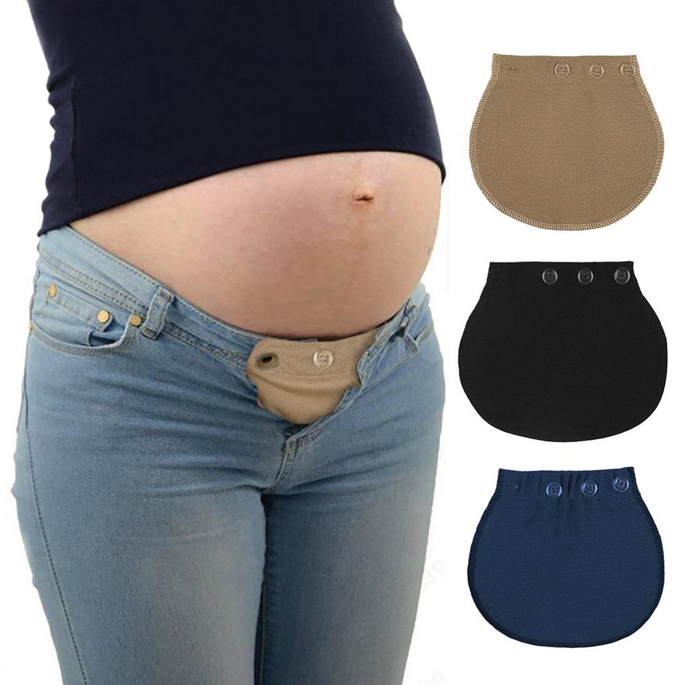 Pregnant Women Waistband Extender Soft Pants