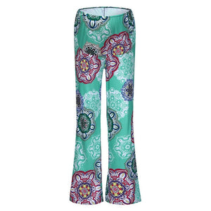 Women's Maternity Floral Pregnancy Pants