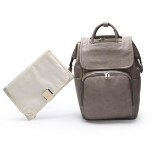 Leather Maternity Multi-function Baby Diaper Bag