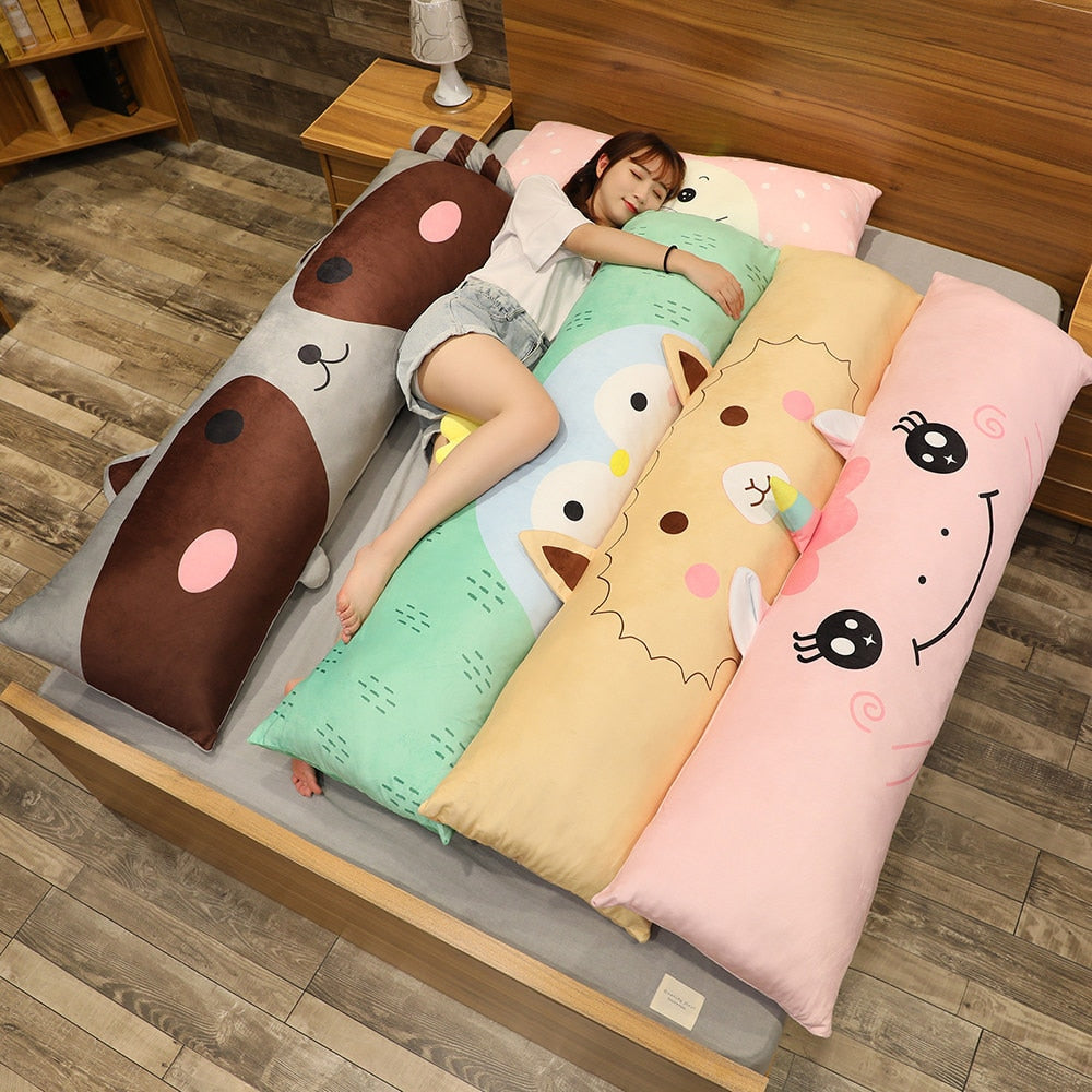 Long Body Pillow Super Large Double Pillow Super Soft  Maternity Pillow Cartoon Animal Plush Toy To Girlfriend Christmas Gift