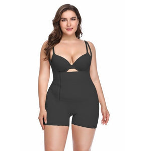Fajas Full Body Shaper Women Slimming Shapewear Bodysuit Strap Postpartum Slimming Corset Underbust Zipper Waist Trainer Vest