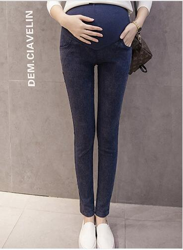 Adjustable Maternity Women Pregnant Jeans Pants