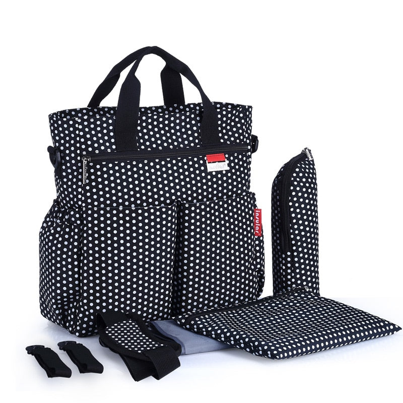 Multifunctional Maternity Baby Diaper Bag Baby Care Waterproof Changing Bag Stroller Bag