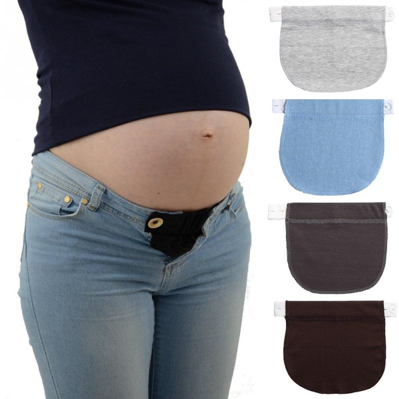 Maternity Elastic Extender Soft Adjustable Pants