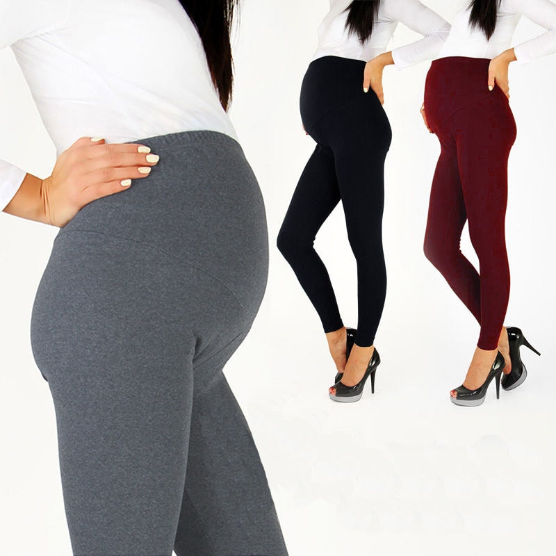 Adjustable Maternity Pregnant Women Soft Leggings