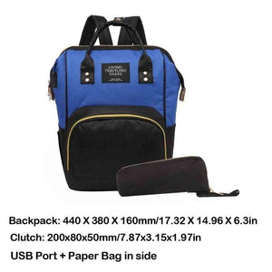 Fashion Large Capacity Mummy Diaper Bag Maternity Backpacks Nappy Organizer Bags Mummy Travel Shopping Nursing Baby Diaper Bag