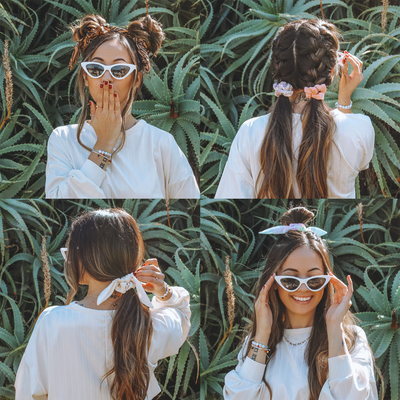 6 Ways to Rock a Scrunchie