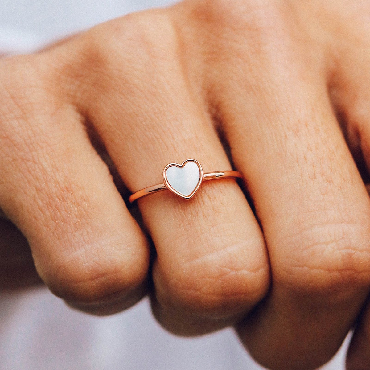 Heart of Pearl Ring 4