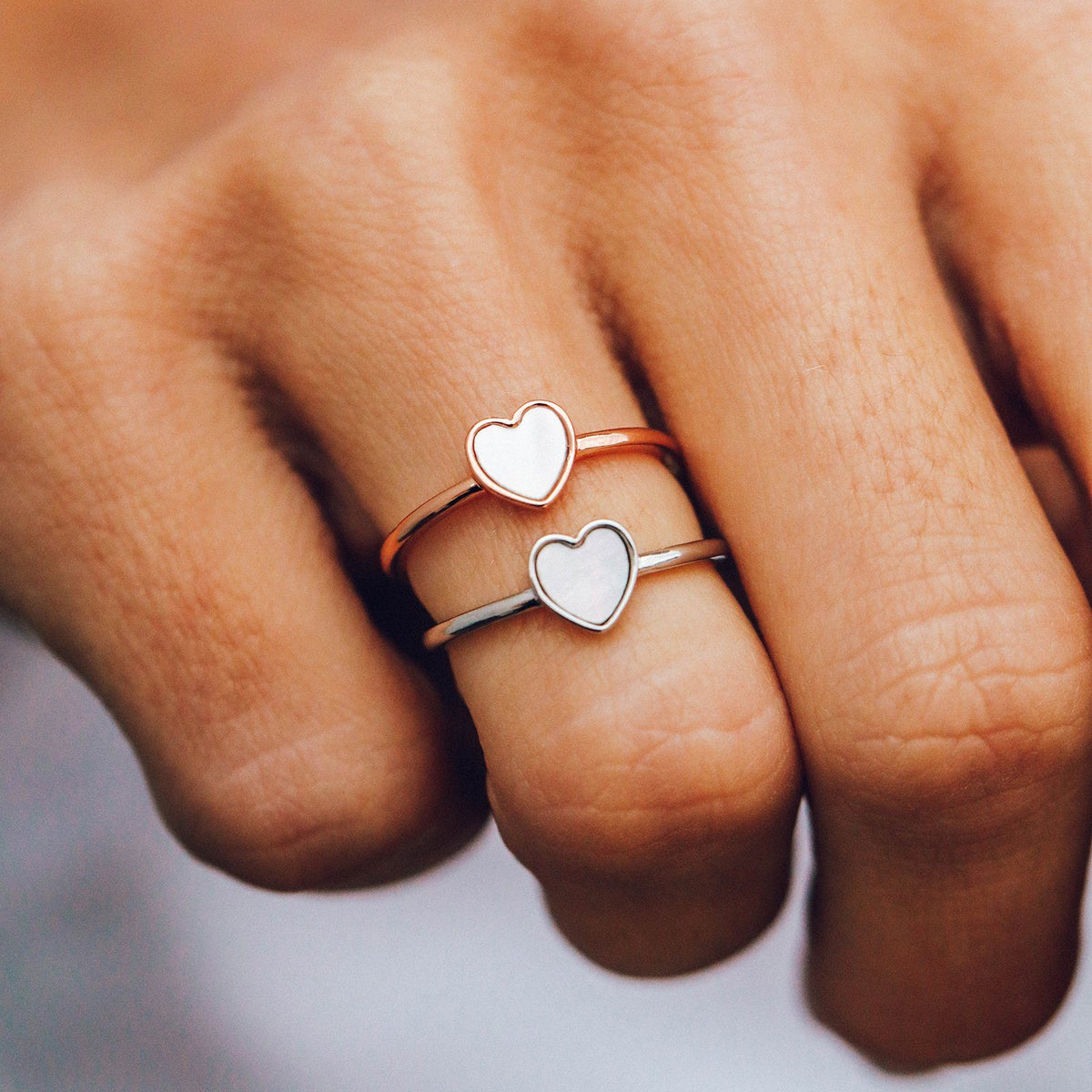 Heart of Pearl Ring 5
