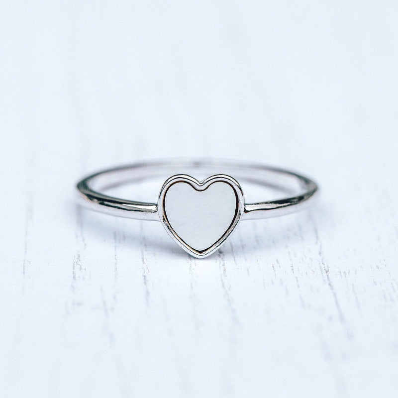 Heart of Pearl Ring 7