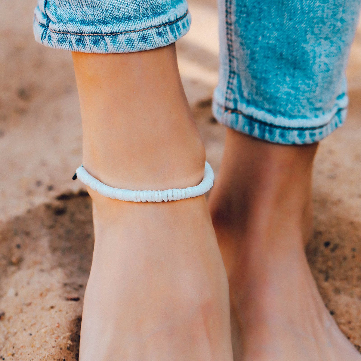 Puka Shell Anklet 4