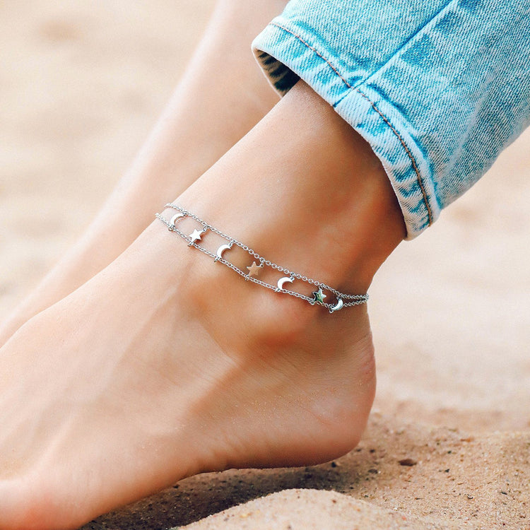 Cosmos Anklet