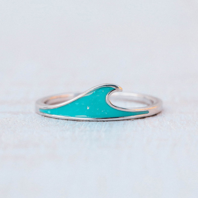 Wave Stacking Ring 6