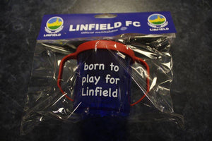 "Baby Cup - ""born to play for Linfield"""