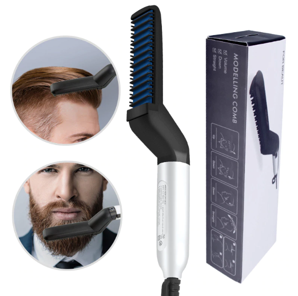 FreshLook™ Beard Straightener Comb Multifunctional