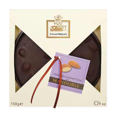 Slitti Dark Chocolate Tortine with Almonds - 150g