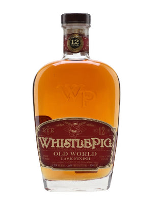 WhistlePig Old World Rye 12 Year Old