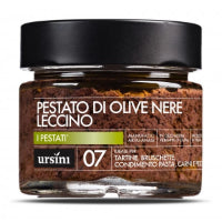 Ursini Leccino Black Olives Pestato in Extra Virgin Olive Oil