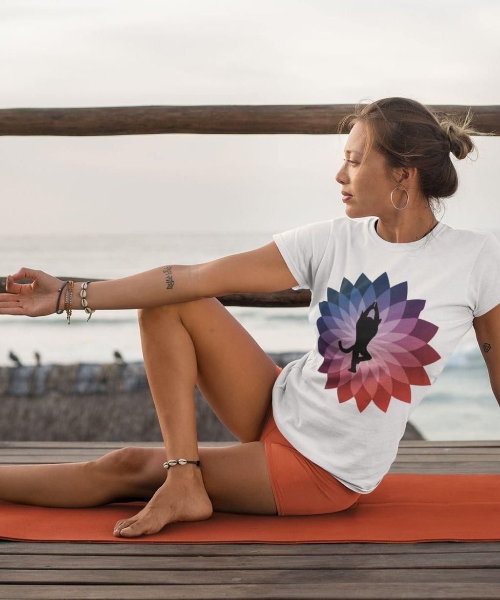 Yoga Cat | Organic Cotton Shirt