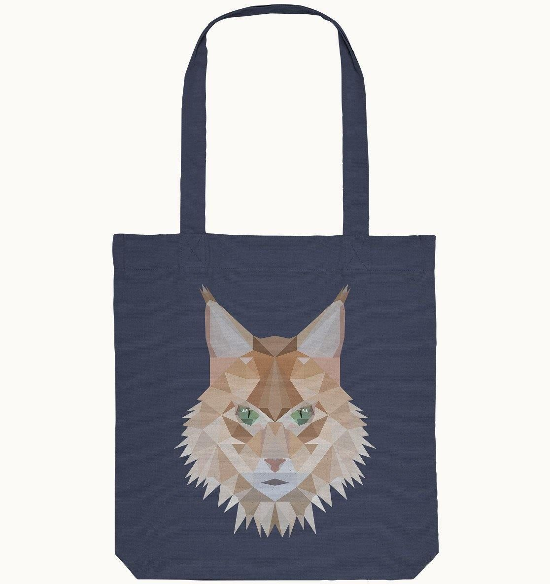 Maine Coon Cat | Organic Cotton Shopping Bag