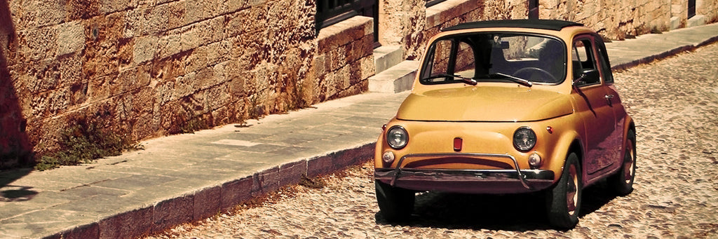 Fiat 500 cinquecento, the quintessential Italian car