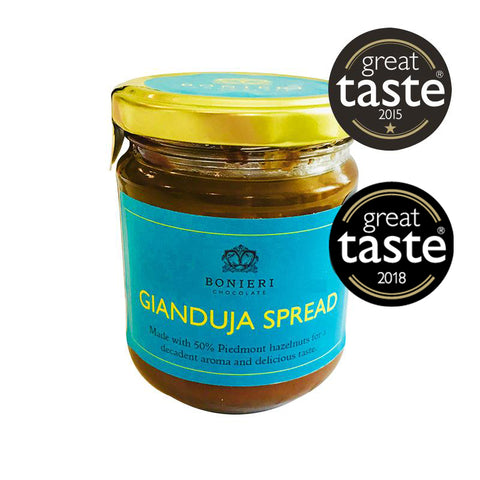 50% HAZELNUT GIANDUJA SPREAD 200g