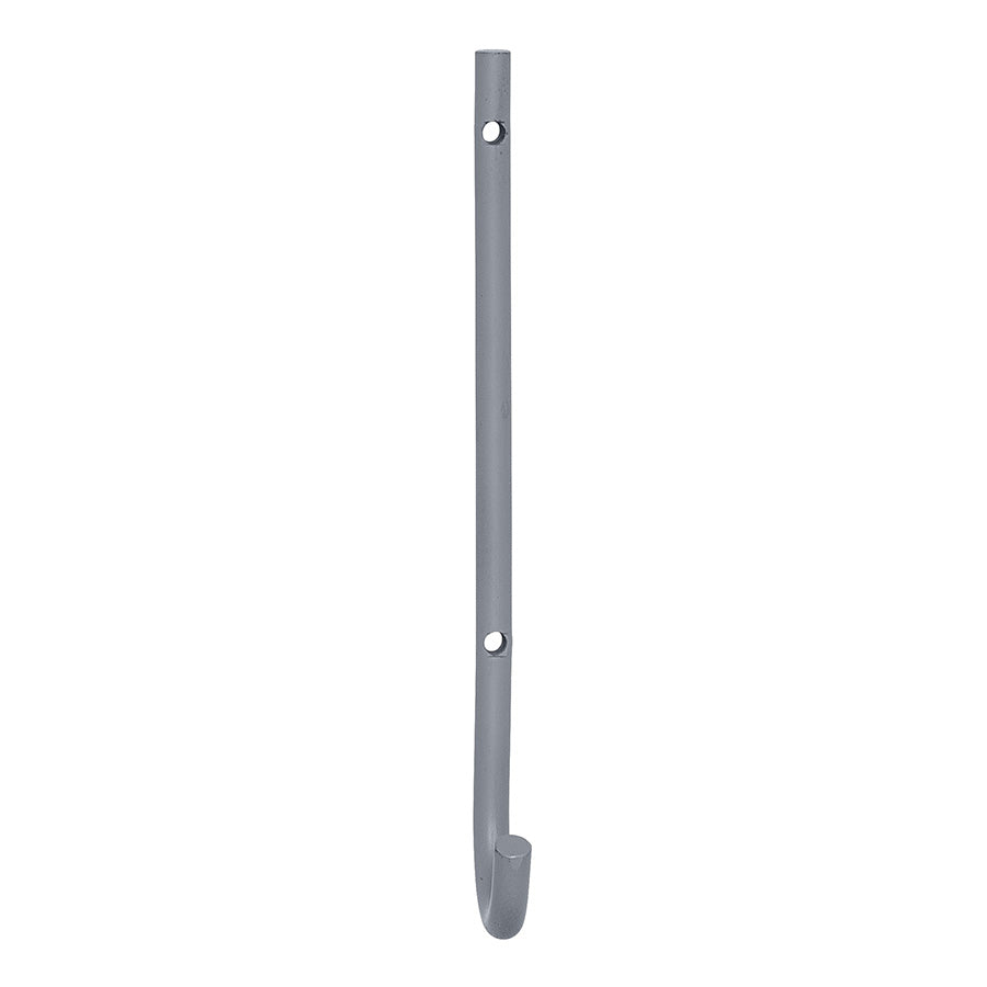Wall Hook . Metal Curve - Grey