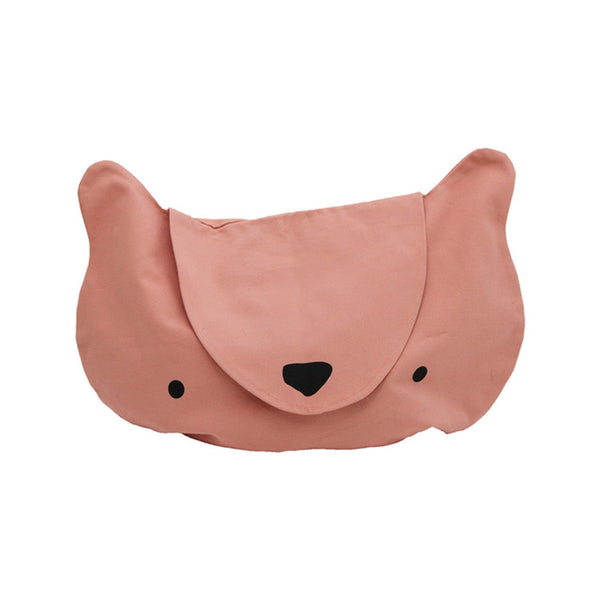 Storage . Cotton Bag - Cubbie / Pink