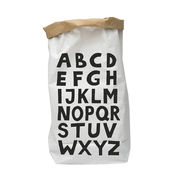 Storage . Reusable Paper Sack - Large / ABC