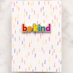 Enamel Pin - Be Kind