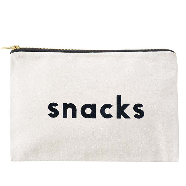 Canvas Pouch . Snacks - Medium