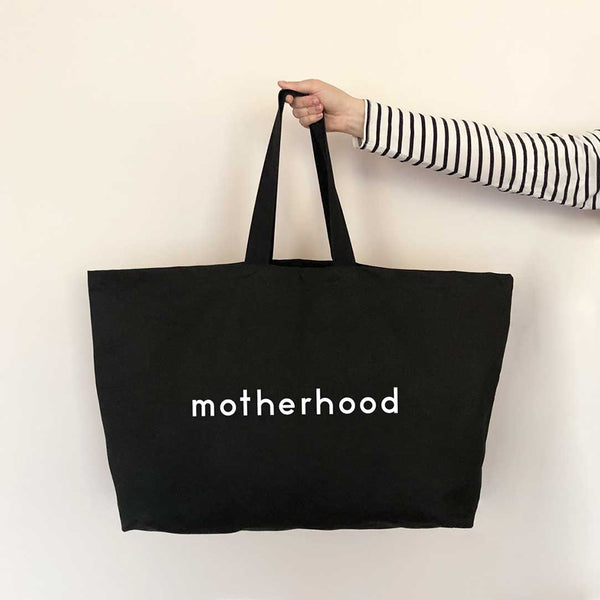 Canvas Tote . REALLY Big Bag - Motherhood
