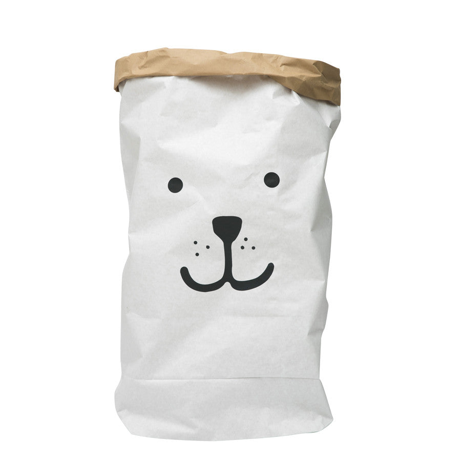 Storage . Reusable Paper Sack   Large / Bear